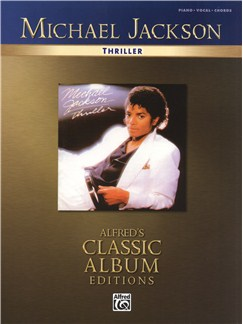 Michael Jackson: Thriller Books | Piano, Vocal & Guitar (with Chord Boxes)