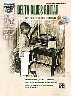 Delta Blues Guitar (Book/CD) Books and CDs | Guitar Tab
