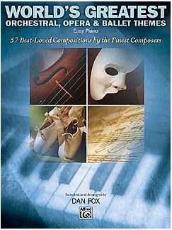 World's Greatest Orchestral, Opera And Ballet Themes For Piano Books | Piano