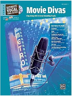 Ultimate Vocal Sing Along Volume Seven - Movie Divas Books and CDs | Voice