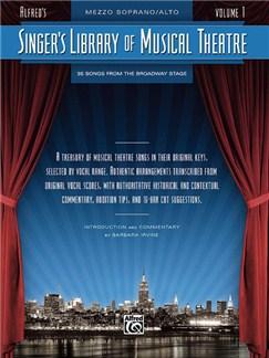 Singer's Library of Musical Theatre - Volume 1 (Mezzo-Soprano Voice) Books | Mezzo-Soprano Voice