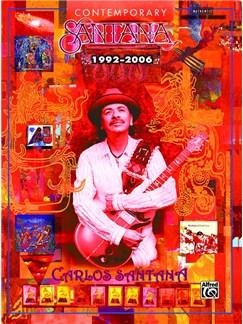 Carlos Santana: Contemporary Santana 1992-2006 Books | Guitar Tab
