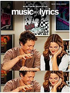 Music And Lyrics - Music From The Motion Picture Books | Piano, Vocal & Guitar