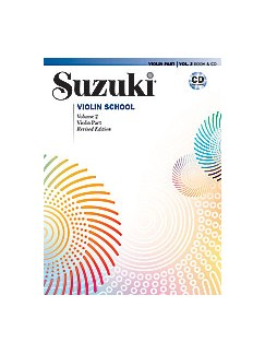 Suzuki Violin School Volume 2  - Violin Part/CD (Revised Edition) Books and CDs | Violin