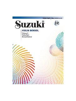 Suzuki Violin School Volume 3 - Violin Part/CD (Revised Edition) CD et Livre | Violon