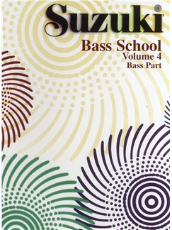 Suzuki Bass School Volume 4 - Bass Part Books | Double Bass