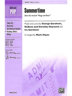 Arr. Mark Hayes: Summertime (From The Musical Porgy And Bess) Books | SSA, Piano Accompaniment