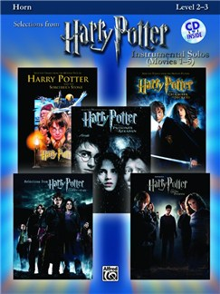 Harry Potter - Instrumental Solos (Movies 1-5) - Horn In F Books and CDs | French Horn