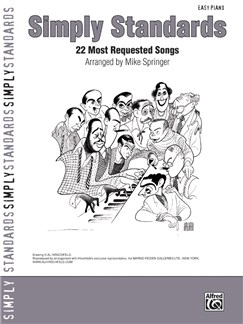 Simply Standards - 22 Most Requested Songs (Easy Piano) Books | Piano