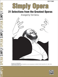 Simply Opera - 21 Selections from the Greatest Operas Books and CD-Roms / DVD-Roms | Piano