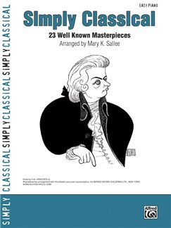 Simply Classical: 23 Well Known Masterpieces Books | Piano