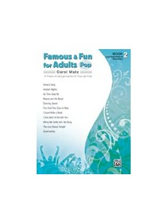 Famous & Fun for Adults: Pop - Book 2 Books | Piano
