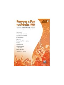 Famous & Fun for Adults: Pop - Book 3 Books | Piano