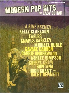 Modern Pop Hits For Easy Guitar Books | Guitar Tab