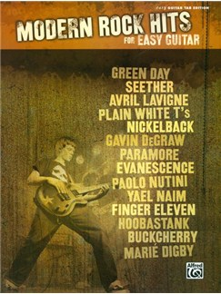 Modern Rock Hits for Easy Guitar Books | Guitar Tab