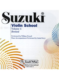 Suzuki: Violin School Volume 4 - Accompanying CD CD | Violín