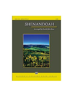 Randol Alan Bass: Shenandoah (Concert Band) Books | Big Band & Concert Band
