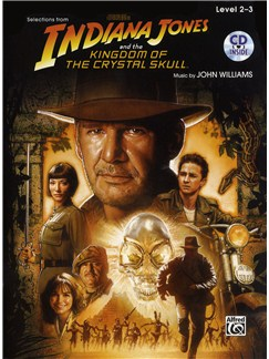 Selections from Indiana Jones and The Kingdom Of The Crystal Skull (Violin) CD et Livre | Violon