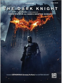Hans Zimmer and James Newton Howard: The Dark Knight - Selections from the Motion Picture (Piano Solo) Books | Piano