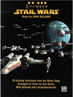 John Williams: Star Wars - 5 Finger Piano Books | Piano