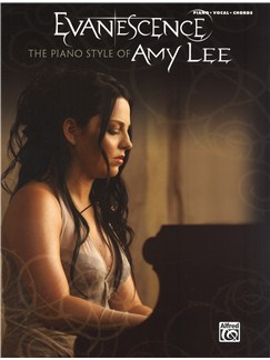 Evanescence: The Piano Style Of Amy Lee Books | Piano, Vocal & Guitar