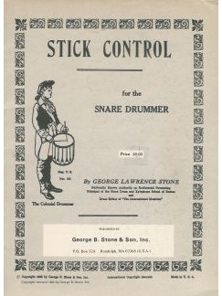 George Lawrence Stone: Stick Control For The Snare Drummer Books | Drums