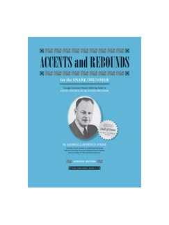 George Lawrence Stone: Accents And Rebounds - For The Snare Drummer (Revised & Updated) Books | Drums