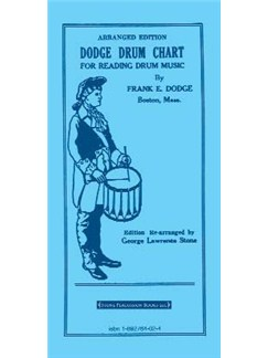Frank E. Dodge: Dodge Drum Chart For Reading Drum Music Books | Drums