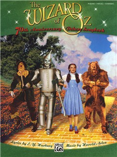 E.Y. Harburg/Harold Arlen: The Wizard Of Oz - 70th Anniversary Deluxe Songbook (PVG) Books | Piano, Vocal & Guitar