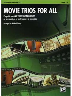 Michael Story: Movie Trios For All Books | All Instruments (Trio), Ensemble
