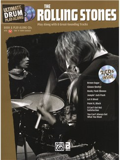 Ultimate Drum Play-Along: Rolling Stones Books and CDs | Drums