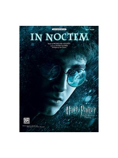Nicholas Hooper: In Noctem - Harry Potter & The Half Blood Prince (Easy Piano) Books | Piano