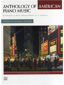 Anthology Of American Piano Music Books | Piano