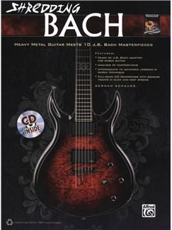 German Schauss: Shredding Bach Books and CDs | Guitar, Guitar Tab