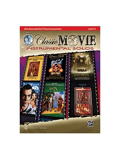 Classic Movie Instrumental Solos For Strings CD y Libro | Viola