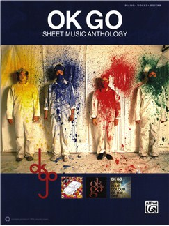 OK Go: Sheet Music Anthology Books | Piano, Vocal & Guitar