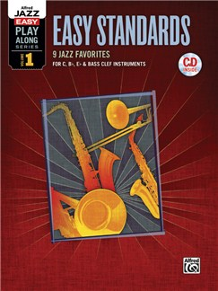 Alfred Jazz Easy Play-Along Series Volume 1: Easy Standards Books and CDs | All Instruments