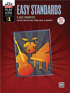Alfred Jazz Easy Play-Along Series Volume 1: Easy Standards (Book/MP3CD) Books and CD-Roms / DVD-Roms | All Instruments