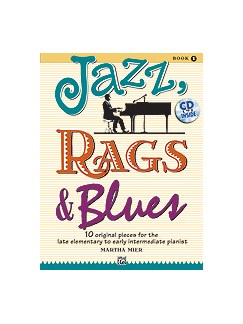 Martha Mier: Jazz, Rags & Blues - Book 1 Books and CDs | Piano