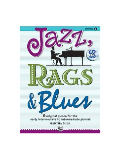 Martha Mier: Jazz, Rags & Blues - Book 2 Books and CDs | Piano