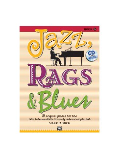 Martha Mier: Jazz, Rags & Blues - Book 5 Books and CDs | Piano