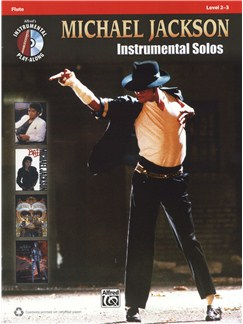 Michael Jackson: Instrumental Solos - Flute Books and CDs | Flute