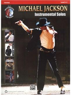 Michael Jackson: Instrumental Solos - Clarinet Books and CDs | Clarinet