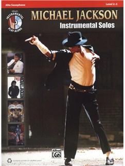 Michael Jackson: Instrumental Solos - Alto Saxophone Books and CDs | Alto Saxophone