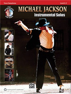 Michael Jackson: Instrumental Solos (Tenor Saxophone) Books and CDs | Tenor Saxophone