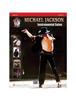 Michael Jackson: Instrumental Solos (Horn In F) Books and CDs | French Horn