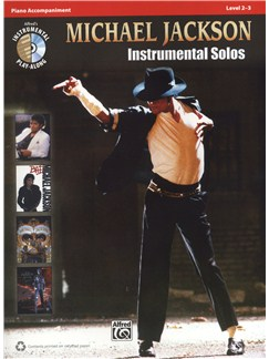 Michael Jackson: Instrumental Solos - Piano Accompaniment Books and CDs | Piano Accompaniment