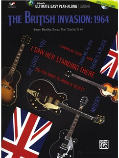 Ultimate Easy Guitar Play-Along: The British Invasion - 1964 Books and DVDs / Videos | Guitar, Guitar Tab