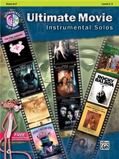 Ultimate Movie Instrumental Solos: Horn (Book/CD) Books and CDs | French Horn