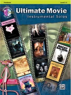 Ultimate Movie Instrumental Solos: Trombone (Book/CD) Books and CDs | Trombone